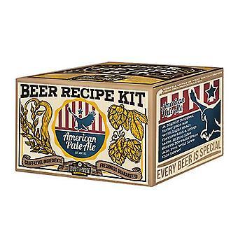Crie uma cerveja - kit de recarga de cerveja pálida americana