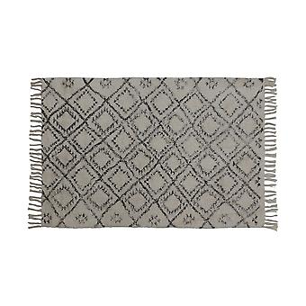 Light & Living Rug 120x80cm Boyaka Black-White Rhombus Print
