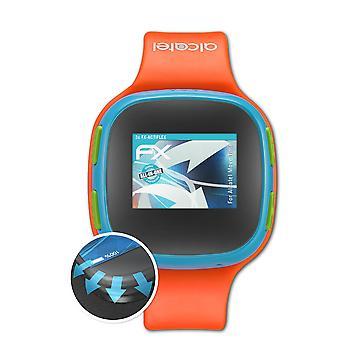 atFoliX 3x Schutzfolie kompatibel mit Alcatel Move Time Folie klar&flexibel