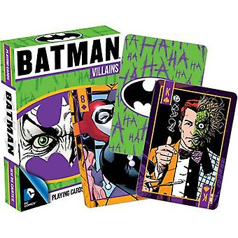 Dc comics - batman villains playing cards