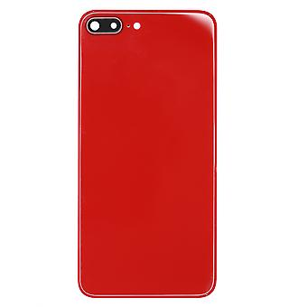 Red Back Glass Replacement For iPhone 8 Plus