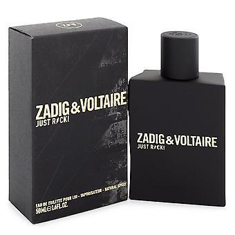 Zadig & Voltaire Just Rock! for Him Eau de Toilette 50ml EDT Spray