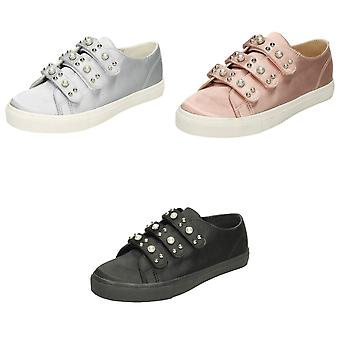 Spot On Womens/Ladies Pearl  Trainers