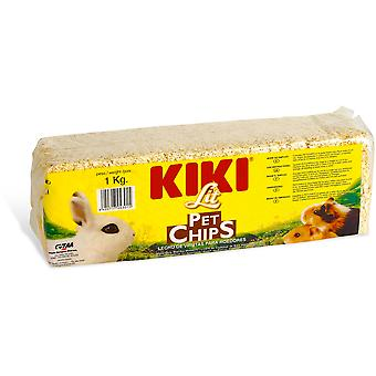Kiki Lecho Lit Pet Chips para Viruta Bossa (Small pets , Bedding)
