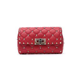 Valentino Garavani Sw2b0e84napju5 Kvinder's Rød læderpose