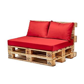 Gardenista® rojo resistente a la UE muebles de pallet asiento respaldo cojín