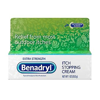 Benadryl extra strength anti itch cream, 1 oz