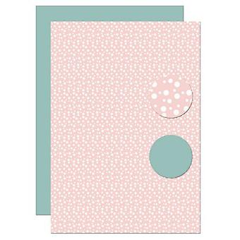 Nellie's Choice Background sheets Bubbles NEVA103 A4 (02-20)