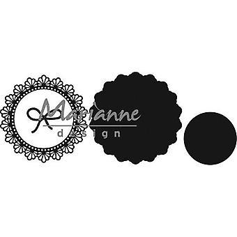 Marianne Design Craftables leikkaus kuolee - Twine Circle CR1414