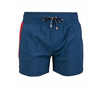 Balmain Swimwear Logo Band Swim Shorts