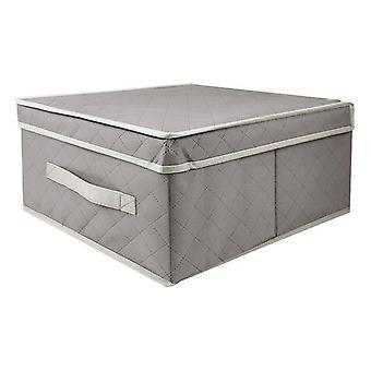 Opbevaringsboks med låg confortime klud (30 x 30 x 16 cm)