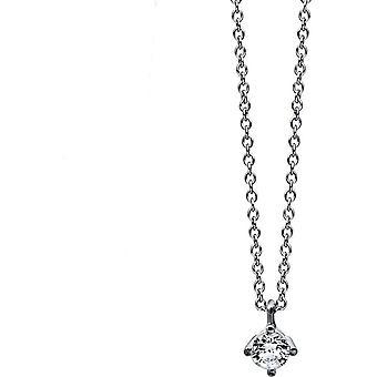 دايموند كولير كولير - 18K 750/- الذهب الأبيض - 0.15 قيراط. - 4C773W8-1