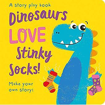 Dinosaurs LOVE Stinky Socks! by Jenny Copper - 9781789580259 Book