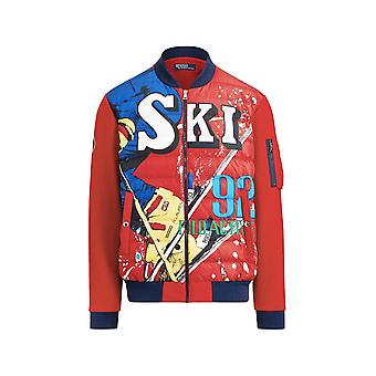 Ralph Lauren Ezcr012008 Men's Red Nylon Outerwear Jacket