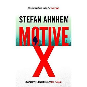 Motive X by Stefan Ahnhem - 9781786694607 Book