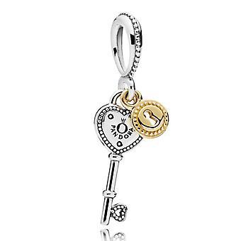 Clave de PANDORA para mi corazón cuelgan encanto - 796593