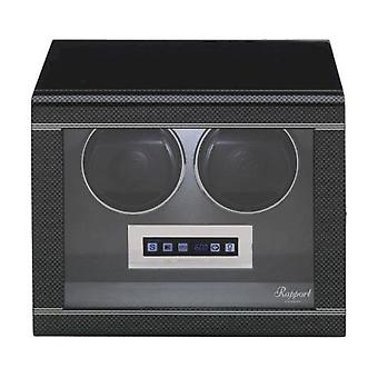 Rapport London Watch Winder Formula Carbon Duo W562