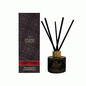 Shearer Candles Home Fragrance Highland Collection Reed Diffusers 100ml Red Red Rose