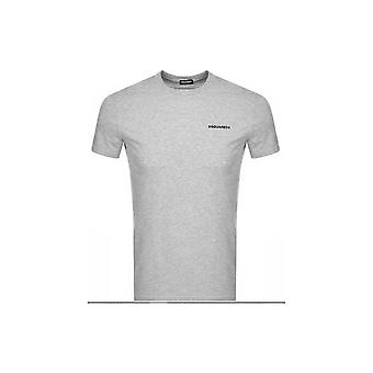 DSQUARED2 einfaches graues T-shirt