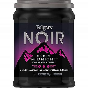 Folgers Noir Smoky Midnight Ground Coffee