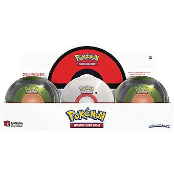 Pokemon Poke Ball Tin July 2020 (6 Tins)