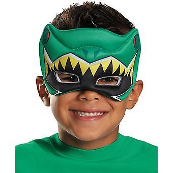 Maske For grønne Ranger Dino oppustede