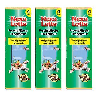 Sparset: 3 x NEXA LOTTE® flugfälla, 4 stycken