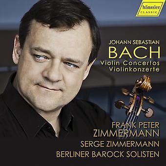 Bach*J.S. / Zimmermann - Violin Concertos [CD] USA import