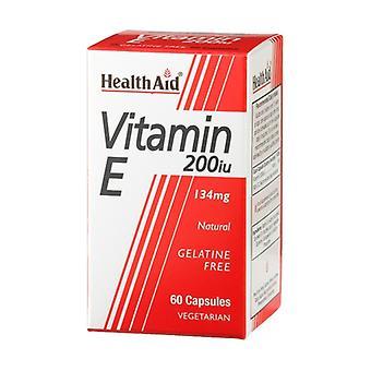 Vitamin E 60 capsules