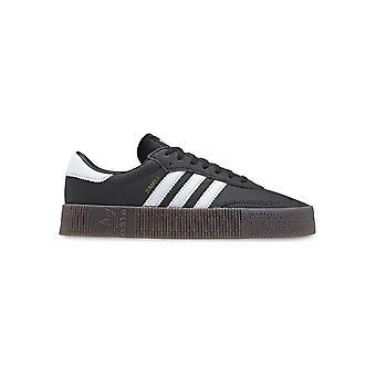 אדידס-נעליים-סניקרס-B28156_Sambarose-נשים-שחור, לבן-בריטניה 4.5