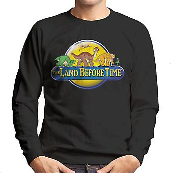 The Land Before Time Logo Men's Sweatshirt
