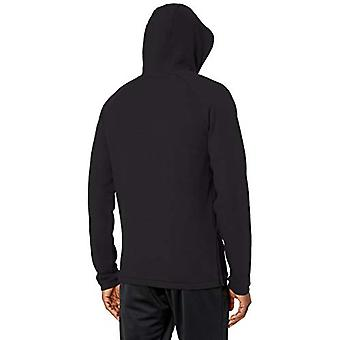 Peak Velocity Men's French Terry Pull-Over Athletic-fit Hoodie, black, XXXX-L...