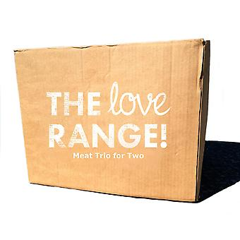 The Love Range Frozen Meat Trio Mixed Meals Box