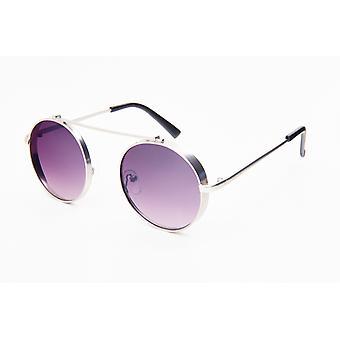 Solglasögon Unisex Silver/Violett (20-131)