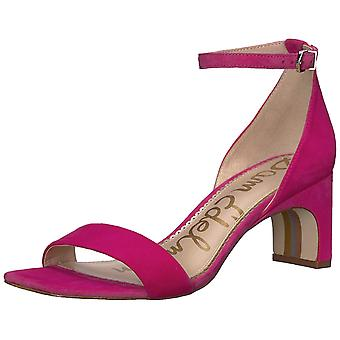 Sam Edelman Womens Holmes Suede Open Toe Formal Ankle Strap Sandals