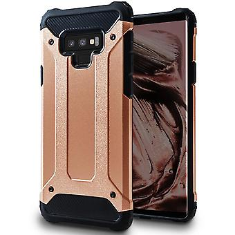 Hybrid Mobile Shell for Samsung Galaxy Note 9 | Pink gold | TPU and Plastic