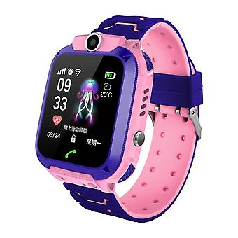 Vanntette barn Q12 Smart Watch, Sos Anti-lost Baby Klokke