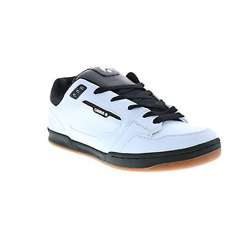 Osiris Trace  Mens White Leather Skate Sneakers Shoes