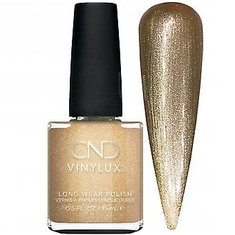 CND vinylux Cocktail Couture 2020 Automne Nail Polish Collection - Get That Gold (368) 15ml