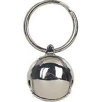 Glocke - Messing Glocke Silber 14mm Single Cat
