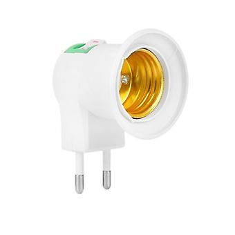 220v Converters, E27 Led Halogen Light Bulb Lamp Adapter
