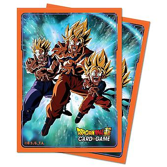 Deck Protector Sleeves Dragon Ball Super V3 65 Sleeves