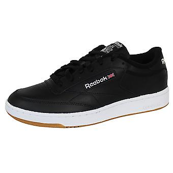 Reebok men's club c 85 black trainers