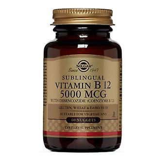 Vitamina Solgar B12, 5000 mcg, 60 Nuggets