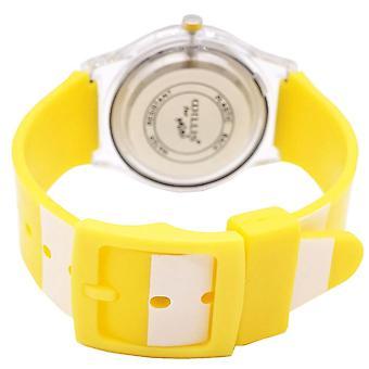 עמיד למים זוהר LED דיגיטלי מגע לצפות לילדים - צהוב
