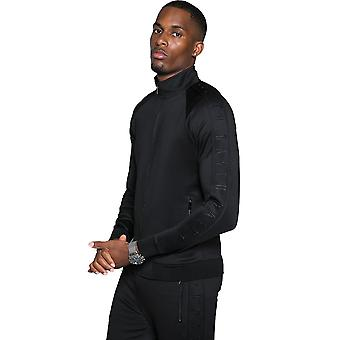 Raith Core Poly Funnel Neck Track Top - Blackout