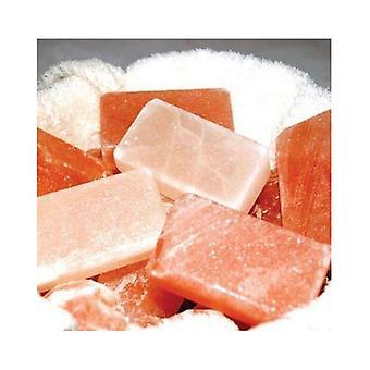 Barre de savon corps sel rose de l'Himalaya