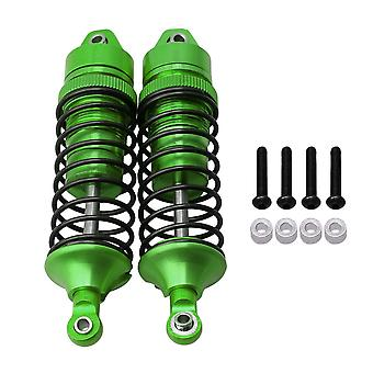 2pcs SLA034 RC 1:10 Alloy Front Shock Absorber for TRAXXAS 4X4 Green