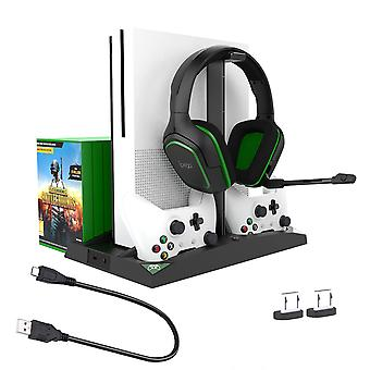 Dual Controller Laadstation Koeling Vertical Stand Voor Xbox One S