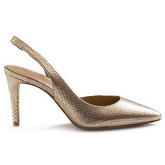 Michael Kors Lucile Flex Gold Heel Shoe